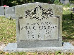 Anna C. Kaniosky poster image