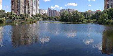 Озеро Жандарка. Водойми Києва. poster image