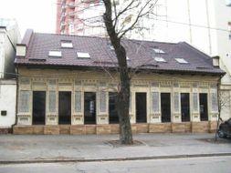 Цегляний будиночок на вул.Павлівській, 9 м. Київ poster image