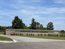 Jacksonville National Cemetery poster image