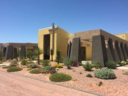 St. Therese Mission Catholic Cemetery. Las Vegas poster image