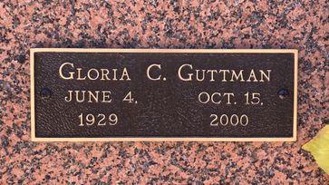 Gloria C. Guttman  poster image