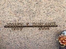 Joseph P. DuPlante  poster image