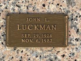 John L. Luckman  poster image