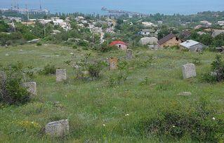 Караимское кладбище, г.Феодосия poster image