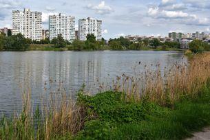 Озеро Райдуга або Радунка. Водойми Києва. poster image