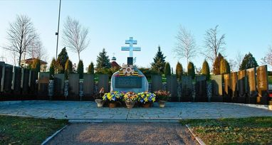 Мемориальный комплекс с. Чапаевка, Токмакского р-н, Запорожской обл. poster image