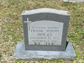 Frank Joseph Holas  poster image