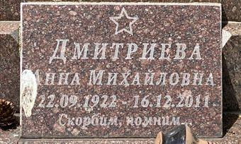 Дмитриева Анна Михайловна  poster image