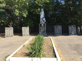 Братская могила в с. Кушугум, Запорожская область poster image