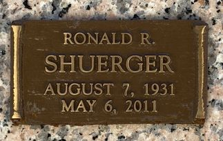 Ronald R. Shuerger  poster image