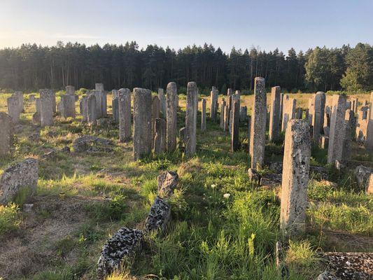 Броды: еврейское кладбище и синагога