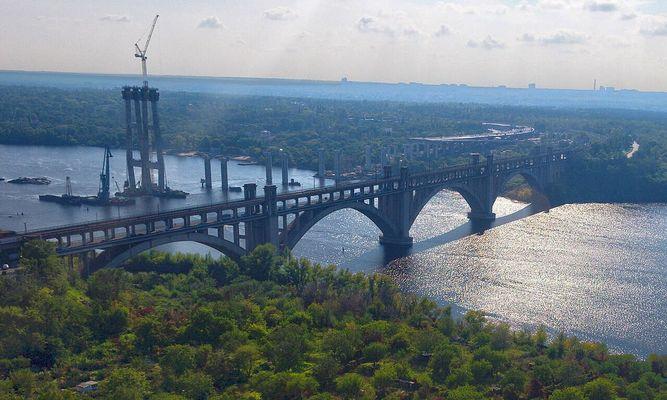 Мосты Б.М.Преображенского, г.Запороржье