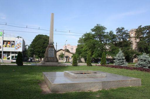 Вечный Огонь и братская могила героев Октября-1917