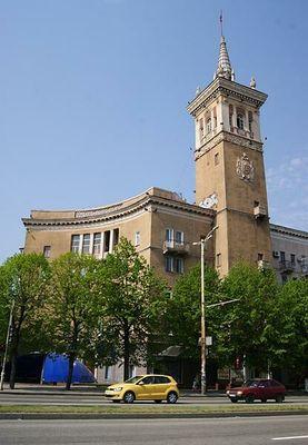 Башня на проспекте Соборный, 175, г.Запорожье