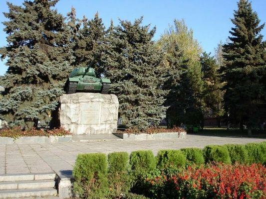 Памятник танковому экипажу Николая Яценко