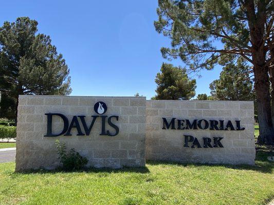 Davis Memorial Park, Las Vegas