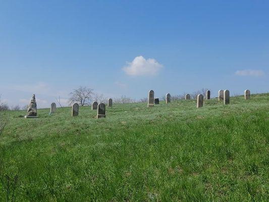 Верхня Хортиця. Старинное еврейское кладбище