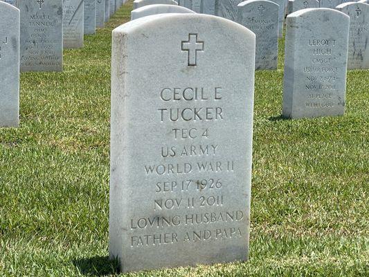 Cecil E Tucker