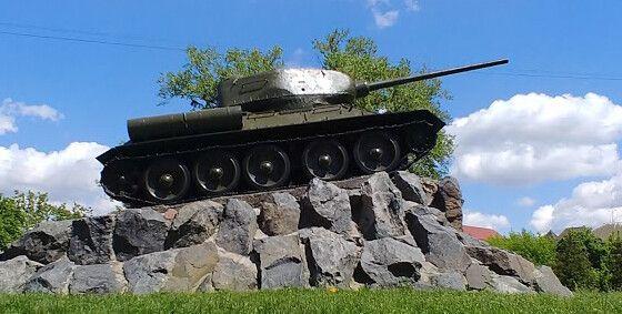 Меморіальний комплекс воїнам - танкістам
