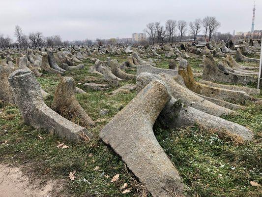 Бердичев: еврейское кладбище и охель Леви-Ицхака