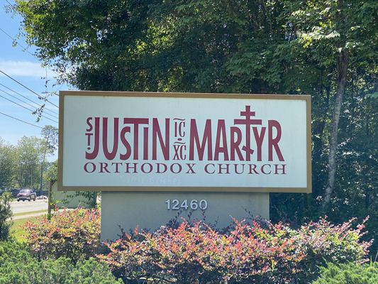 St Justin the Martyr Orthodox Church Cemetery, Mandarin, Jacksonville, Fl