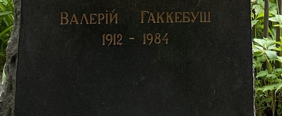 Гаккебуш Валерий Васильевич
