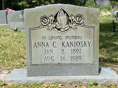 Anna C. Kaniosky