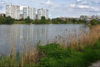 Озеро Райдуга або Радунка. Водойми Києва.