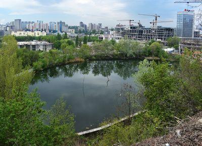 Озеро Глинка. Водойми Києва.