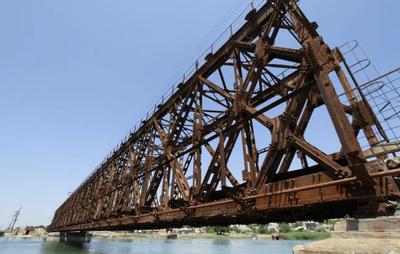 Железнодорожный мост Фридриха Рота, г.Геническ