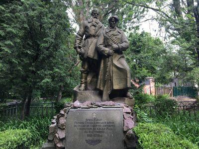 Пам'ятник героям громадянської війни